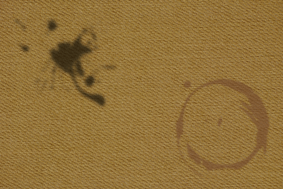 carpet with stains