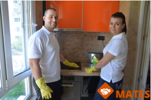 cleaners providing kitchen end of tenancy cleaning
