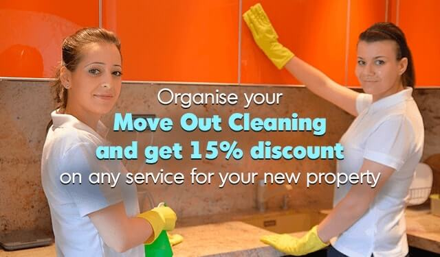 15% discount on any cleaning service for your new propery